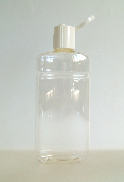 Kosmetikflasche transparent 250ml